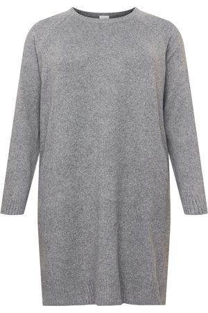 Vila Curve Dame Strikkede kjoler - Strikkekjole 'HAILEY