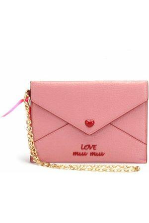 Miu Miu Love Envelope Leather Clutch Bag