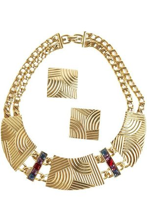 Givenchy Pre-Owned Jewelry set necklace and earclips