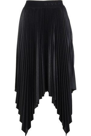 Givenchy Asymmetrisk plissert skjørt