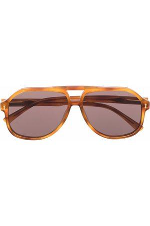 Gucci Herre Solbriller - Aviator frame sunglasses