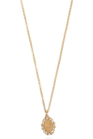 Dolce & Gabbana Pendant necklace with crystals