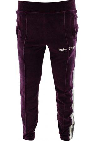 Palm Angels Herre Joggebukser - Velvet spor bukser