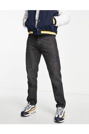 JACK & JONES Intelligence Chris loose fit jeans in washed black