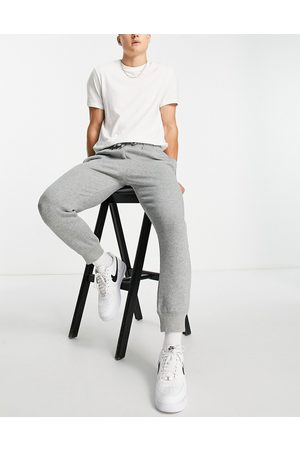 Calvin Klein Logo joggers in grey marl