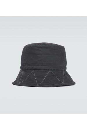 and wander Herre Hatter - Cotton and nylon-blend bucket hat