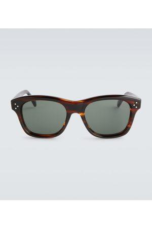 Céline Herre Solbriller - Tortoiseshell acetate sunglasses