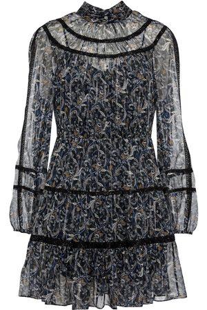 VERONICA BEARD Rahla silk-blend mini dress