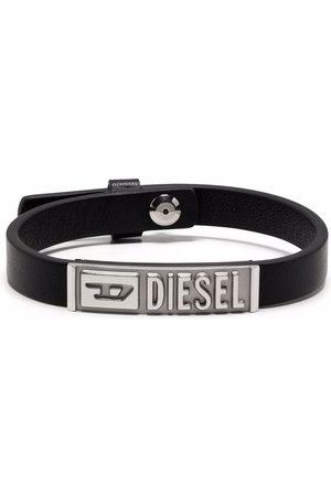 Diesel Logo-engraved ID bracelet