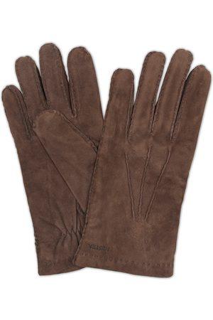 Hestra Herre Hansker - Arthur Wool Lined Suede Glove Espresso