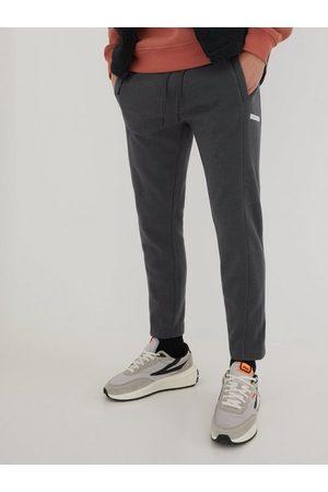 Calvin Klein Herre Joggebukser - Micro Flock Box Hwk Pant Bukser Grey