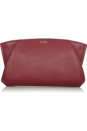 Cartier Pre-owned Leather Clutch Bag