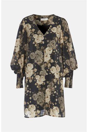 Cream Dame Mønstrede kjoler - Mønstret kjole Floma