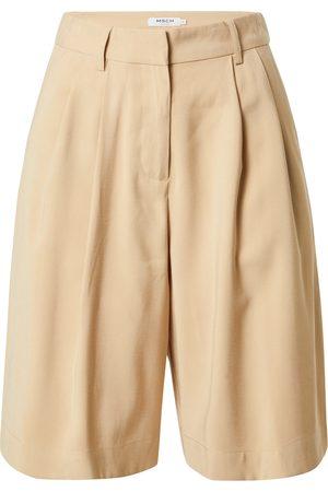 Moss Copenhagen Dame Shorts - Plissert bukse 'Selia