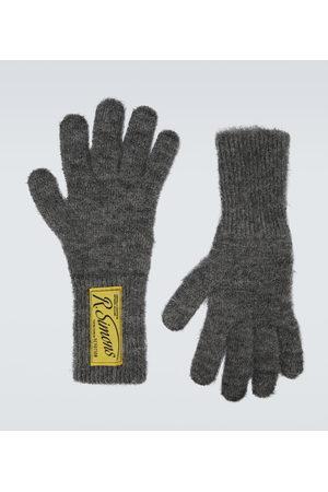 RAF SIMONS Herre Hansker - Wool logo gloves
