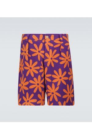Jacquemus Herre Bermudashorts - Le short Montagne printed shorts