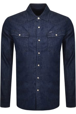 G-Star Herre Langermede - Raw Slim 3301 Long Sleeved Shirt