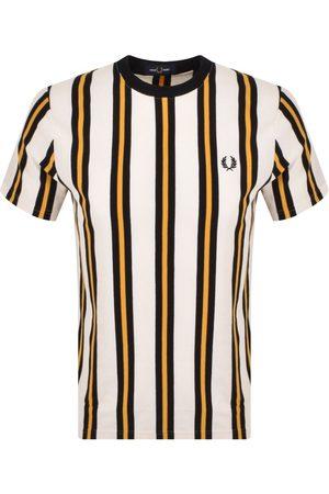 Fred Perry Herre Kortermede - Vertical Stripe T Shirt