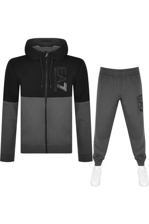 EA7 Herre Loungewear - Emporio Armani Logo Tracksuit